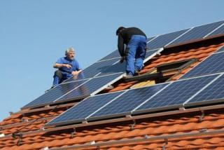 Installation von Solaranlagen