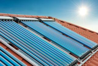 Solarkollektoren für Solarthermieanlage