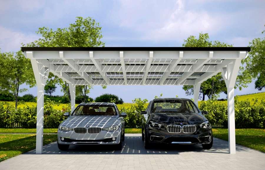 Solarcarport Kosten - Was kostet ein Solarcarport?