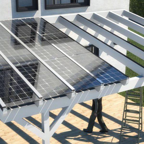 Wie funktioniert eine Solardachterrasse?